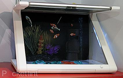 iPad aquarium